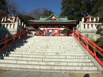 織姫神社H25正月2
