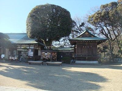 織姫神社H25正月1