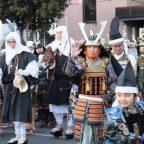2013 足利市 節分鎧年越 鎧行列 その1 織姫公民館から足利学校まで