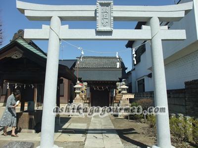 【足利】岡田パンヂュウのある蔵王宮(御嶽神社)と小児玉稲荷神社