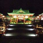 【足利】夜の織姫神社