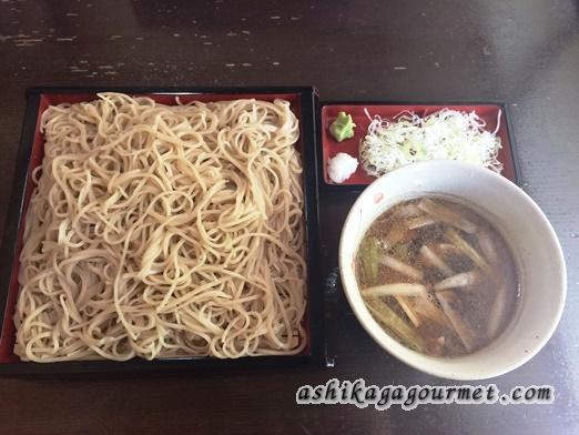 一茶庵本店 足利で蕎麦といえばココ! ★★★+