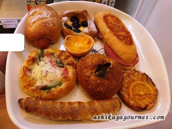 【足利】グランド横のパン屋さん ブーランジェリー・パルク ★★★★