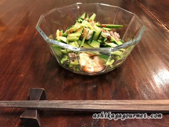 クワカンワットのタイ風サラダ
