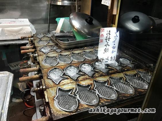 お好み焼きはとやのたい焼き台
