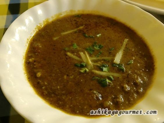 足利駅前インド料理ジャムナのマトンキーマカレー