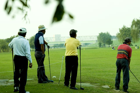 足利市内のゴルフ場